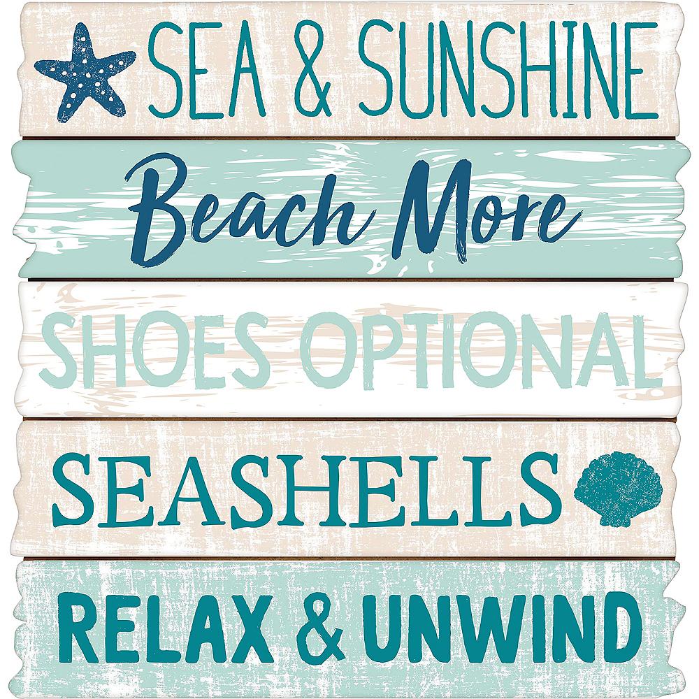 Sea Sand Sun Easel Sign Image #1