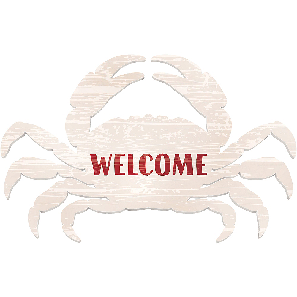 Crab Welcome Sign Image #1