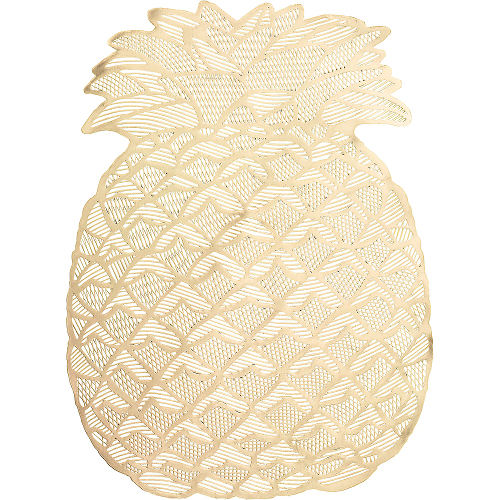 Gold Pineapple Placemat Image #1