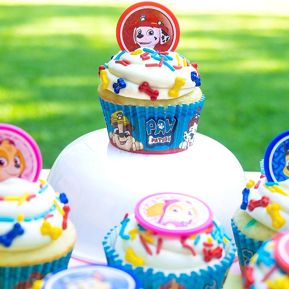 Nav Item For PAW Patrol Cupcake Decorating Kit Image 3