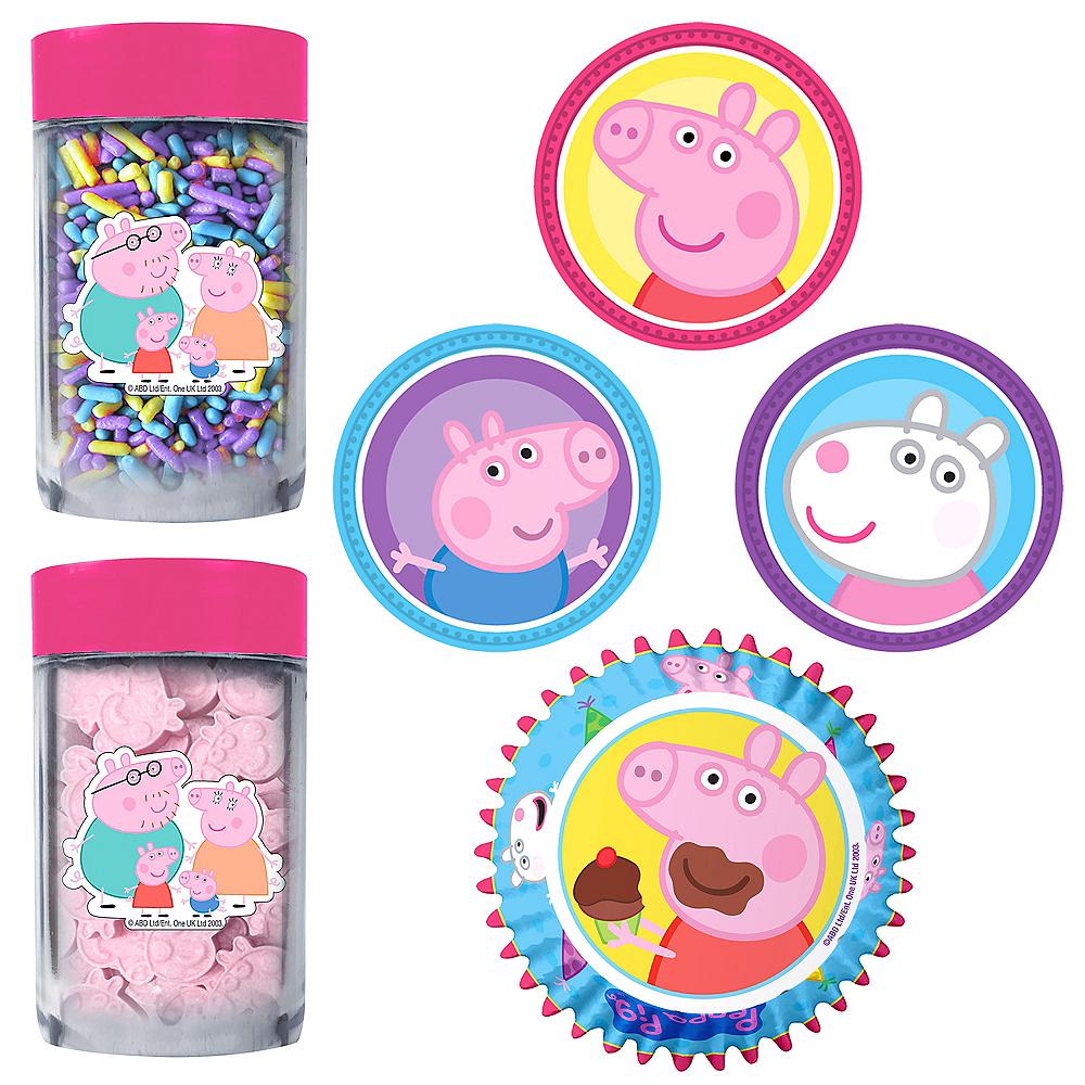 Peppa Pig Cupcake Decorating Kit Image #1