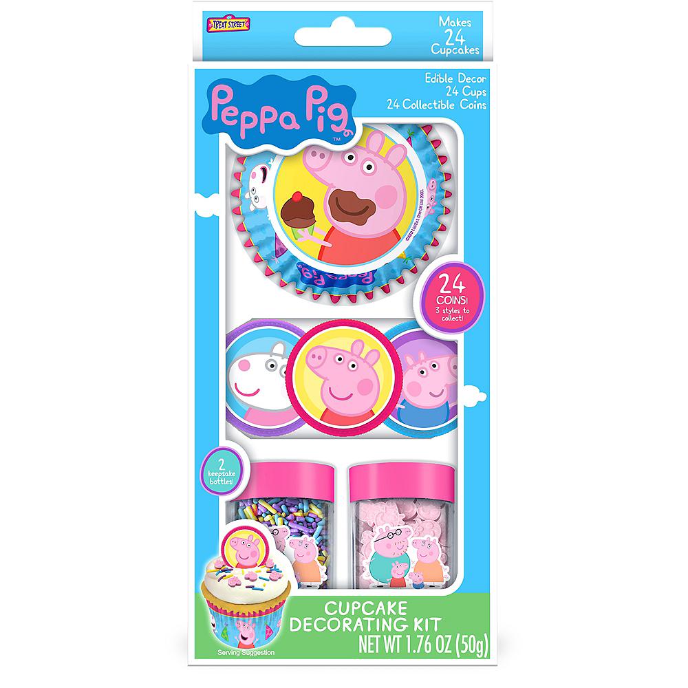 Peppa Pig Cupcake Decorating Kit Image #2