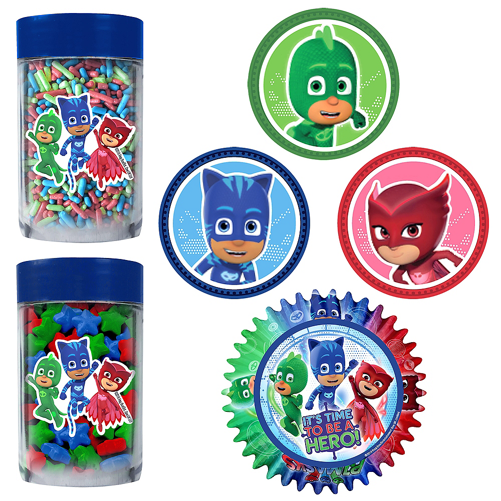PJ Masks Cupcake Decorating Kit Image #1