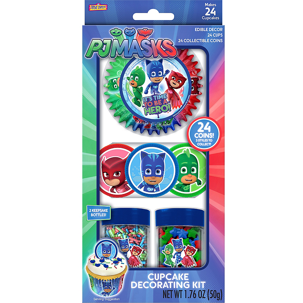 PJ Masks Cupcake Decorating Kit Image #2