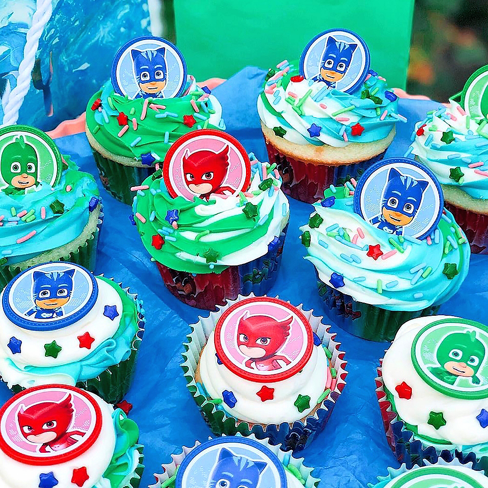 PJ Masks Cupcake Decorating Kit Image #3