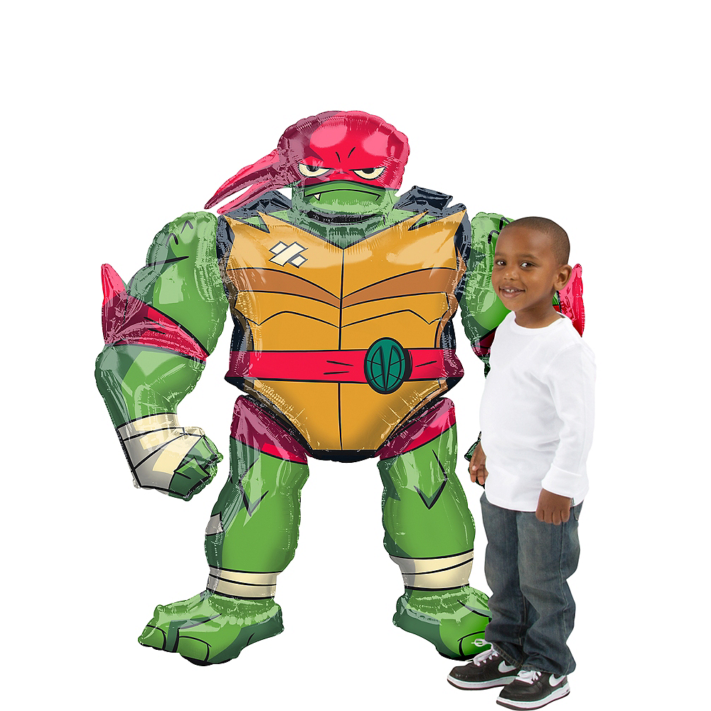 Giant Gliding Raphael Balloon - Teenage Mutant Ninja Turtles Image #1