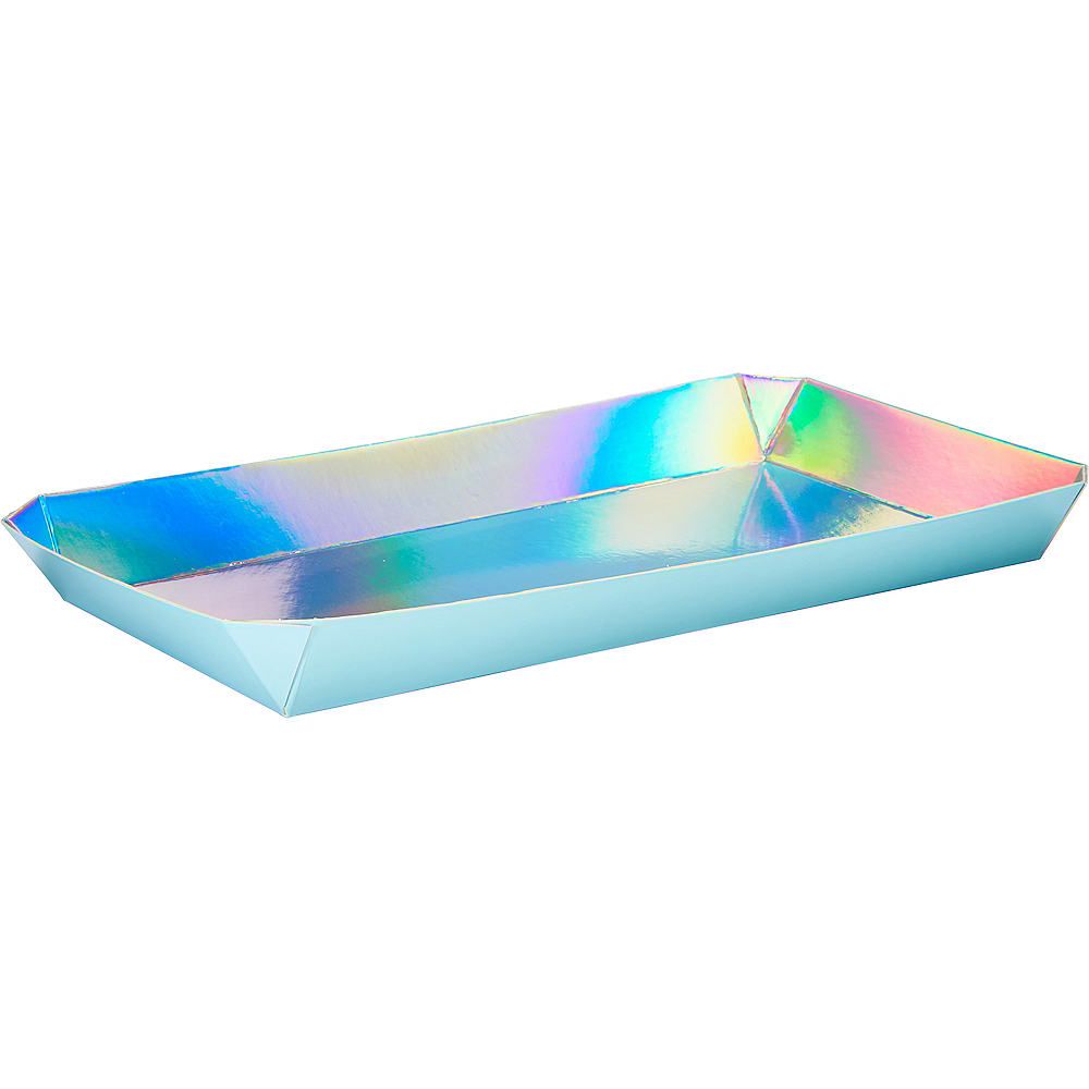 Shimmering Party Serving Trays 2ct Image #1
