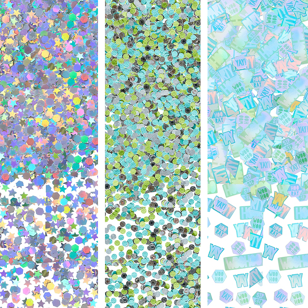 Shimmering Party Confetti Image #1