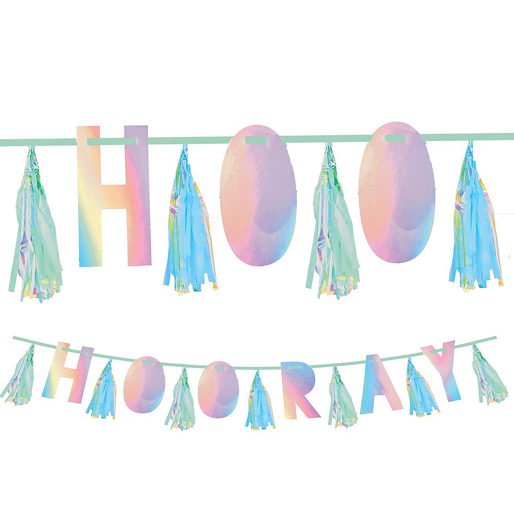Shimmering Party Hooray Tassel Garland Image #1