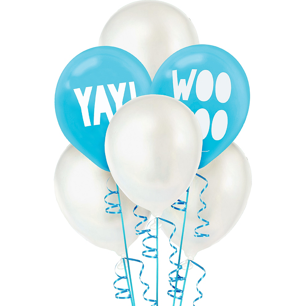 Shimmering Party Balloons 6ct Image #1
