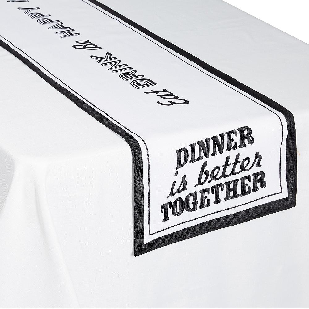 Eat & Enjoy Table Runner Image #1