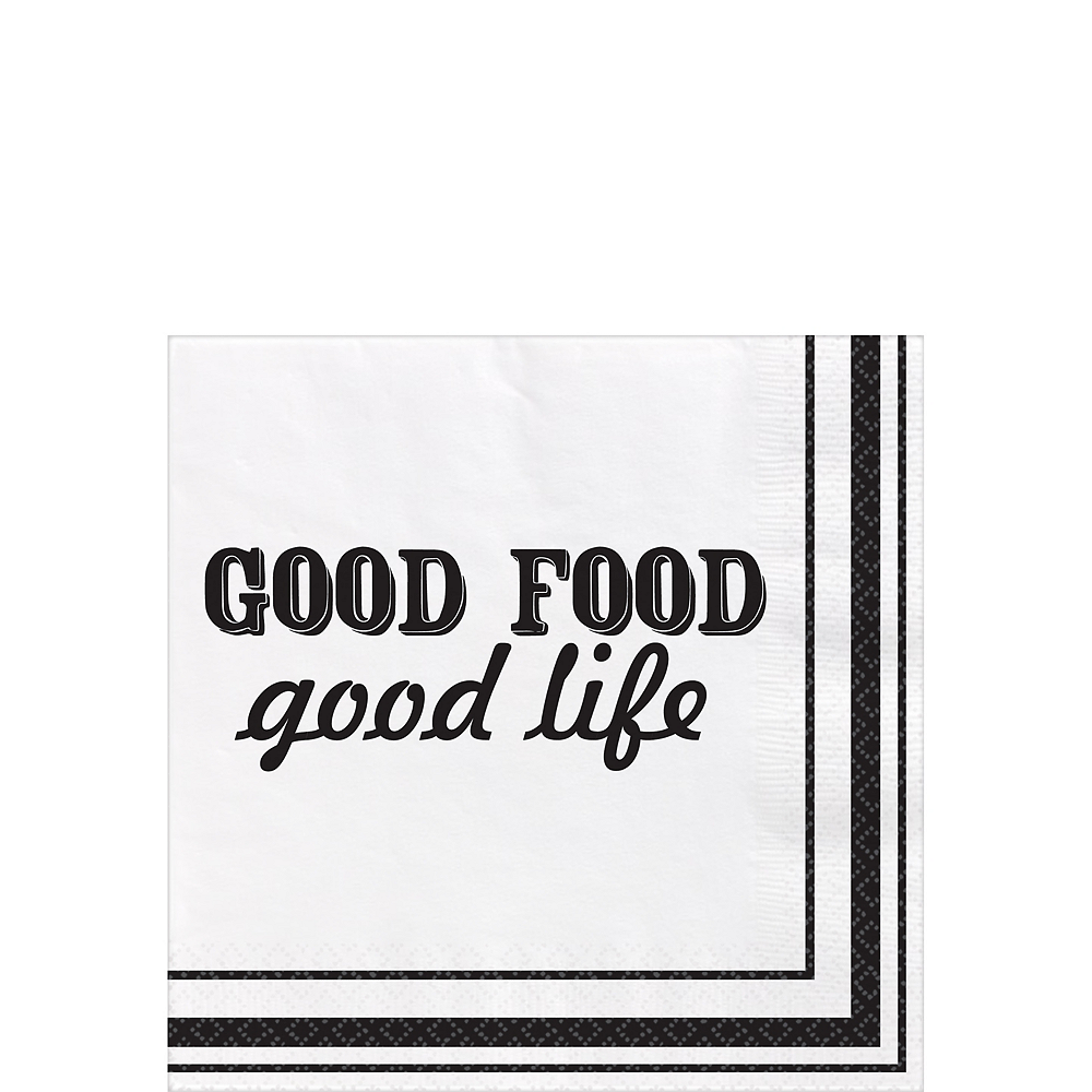 Eat & Enjoy Lunch Napkins 16ct Image #1