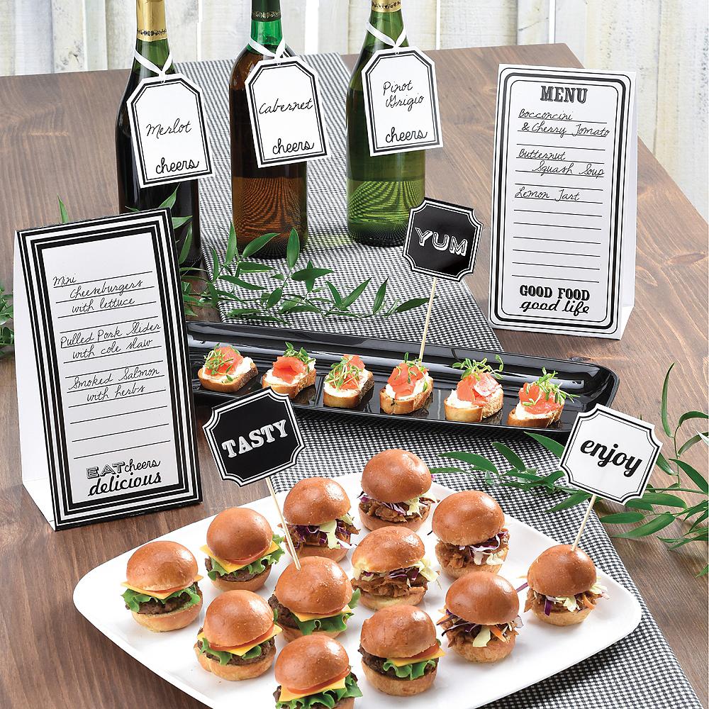 Eat Enjoy Buffet Table Decorating Kit 12pc Eat And Enjoy Party