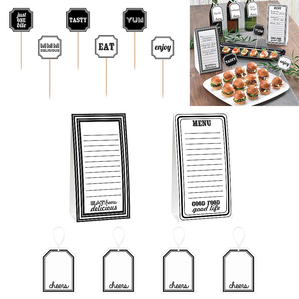 Eat & Enjoy Buffet Table Decorating Kit 12pc Image #2