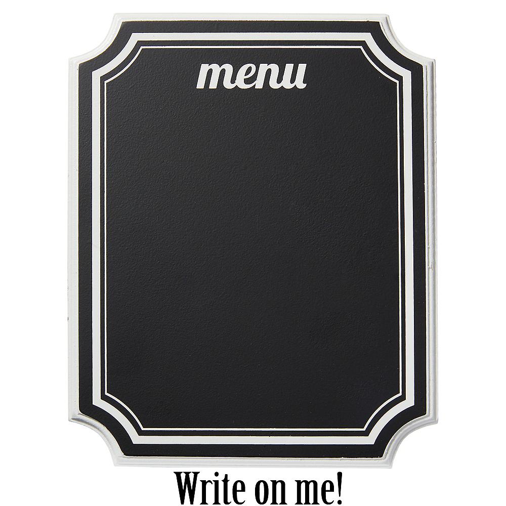 Eat & Enjoy Chalkboard Easel Sign Image #1
