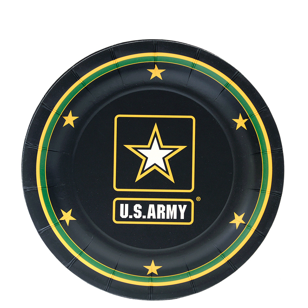 Nav Item for US Army Dessert Plates 8ct Image #1