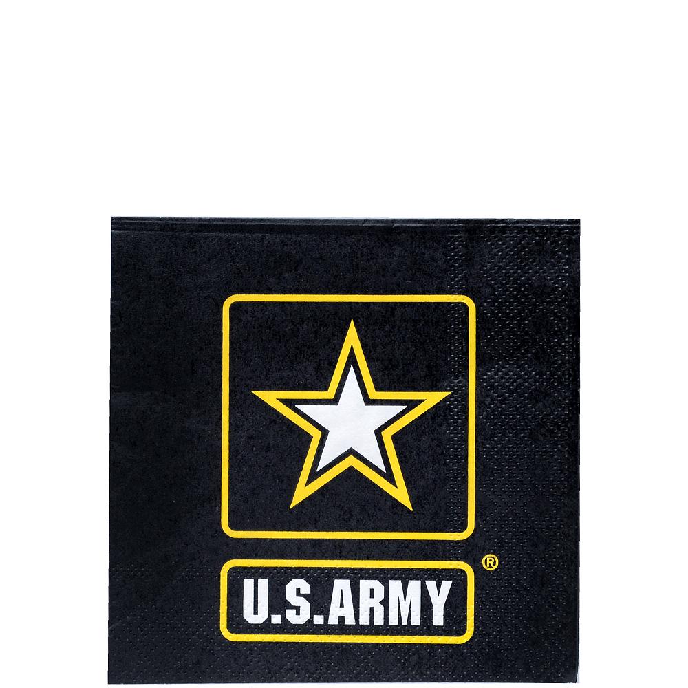 US Army Beverage Napkins 16ct Image #1