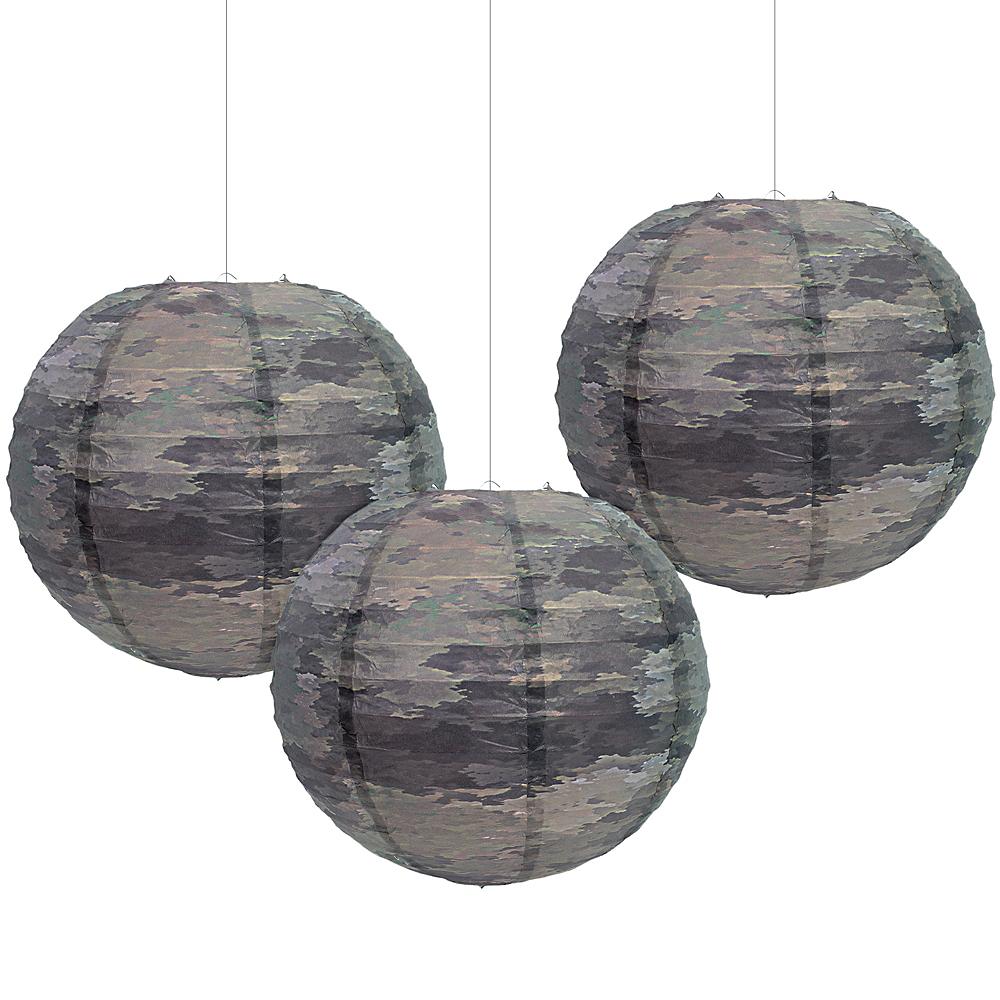 A-Tacs iX Camo Paper Lanterns 3ct Image #1