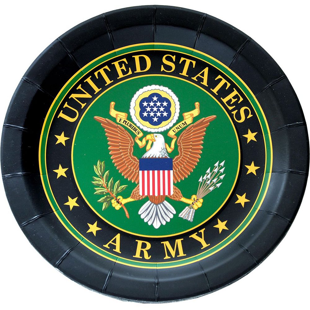 US Army Party Kit for 16 Guests Image #3