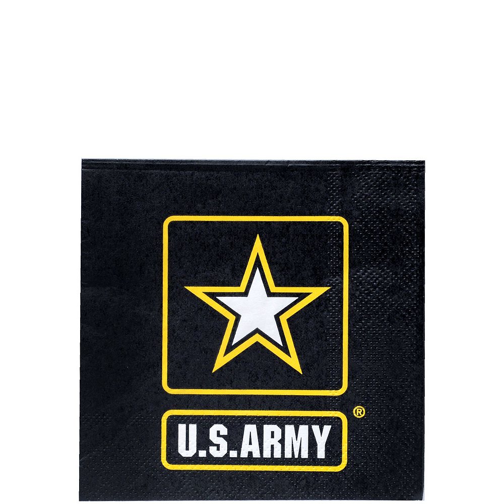 US Army Party Kit for 16 Guests Image #4