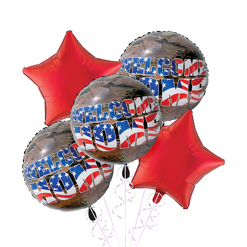 Military Welcome Home Balloon Kit Image #1