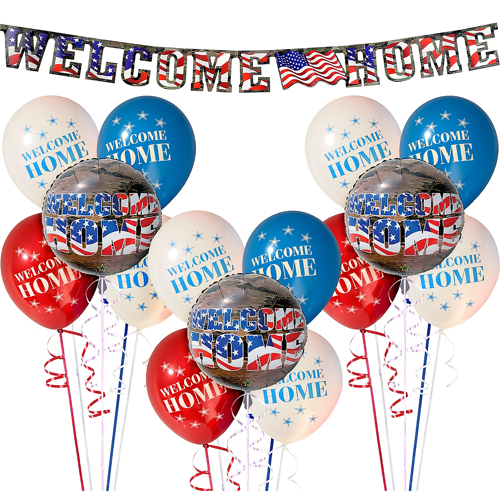 Military Welcome Home Decorating Kit