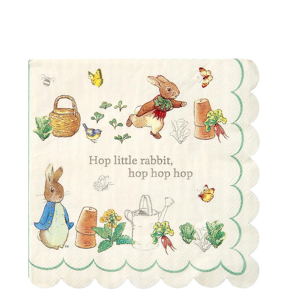 Peter Rabbit Lunch Napkins 20ct Image #1