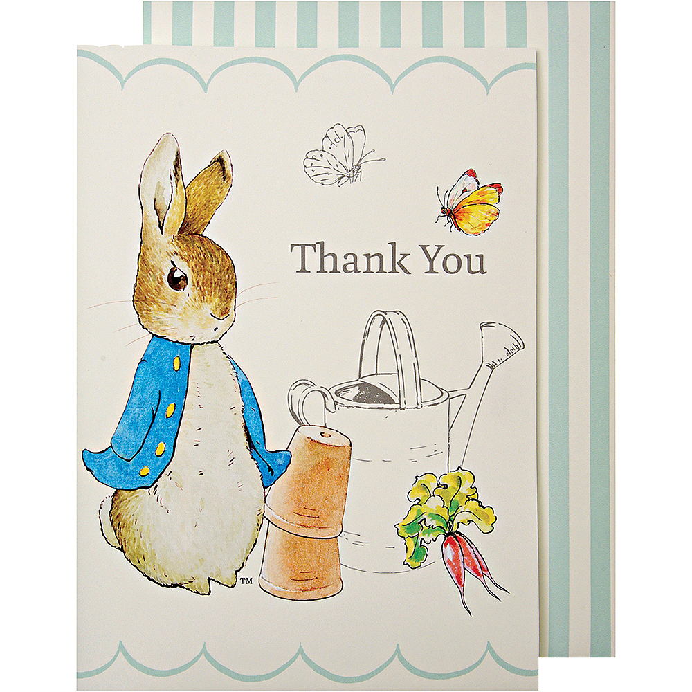 Peter Rabbit Thank You Notes 8ct Image #1