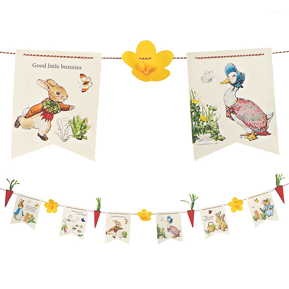 Peter Rabbit Garland Kit Image #1