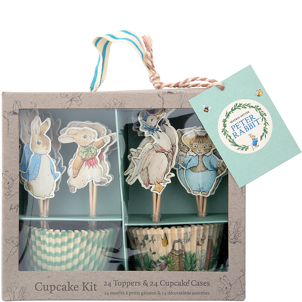Peter Rabbit Cupcake Decorating Kit for 24 Image #1