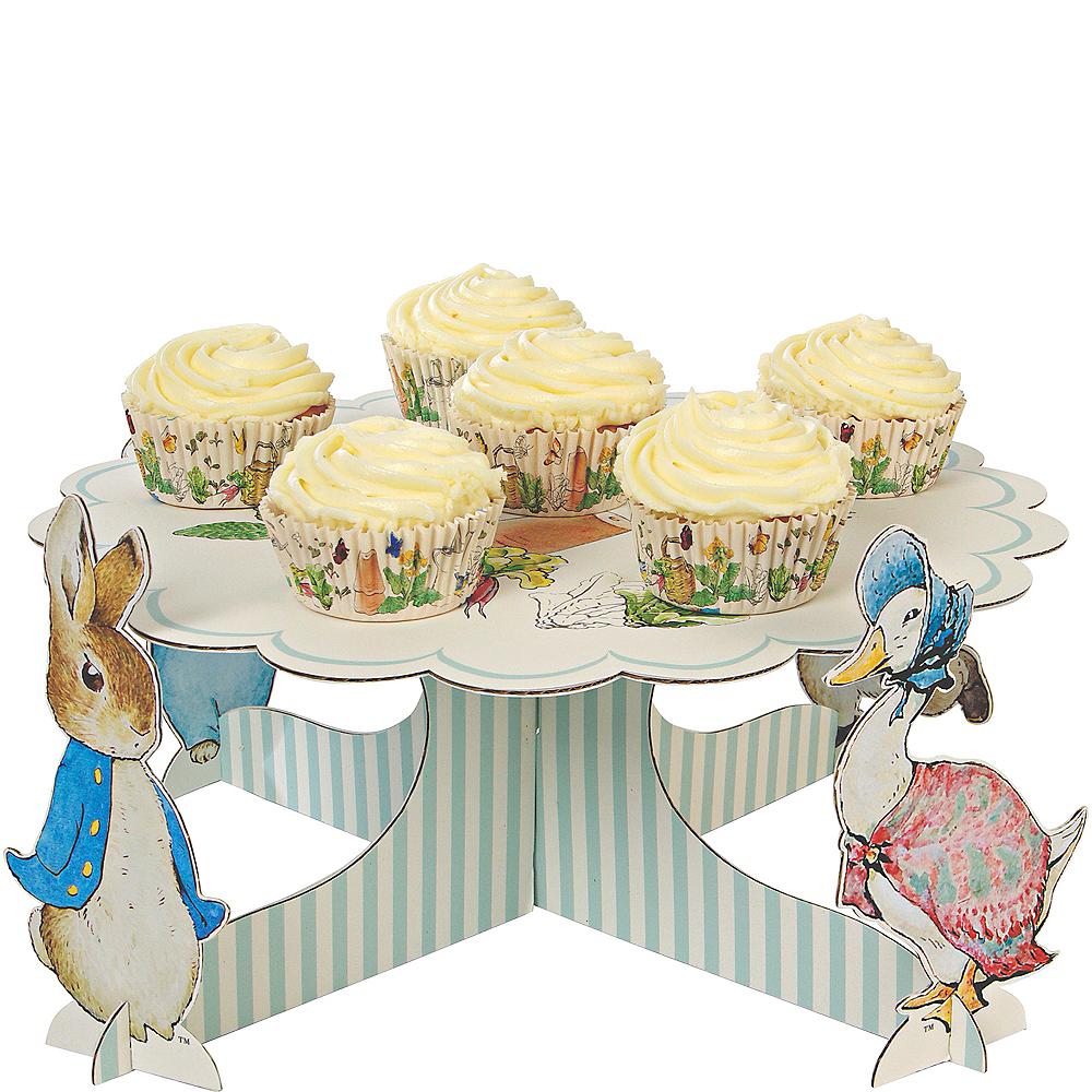 Enjoyable Peter Rabbit Cake Stand 14In X 7In Party City Personalised Birthday Cards Epsylily Jamesorg