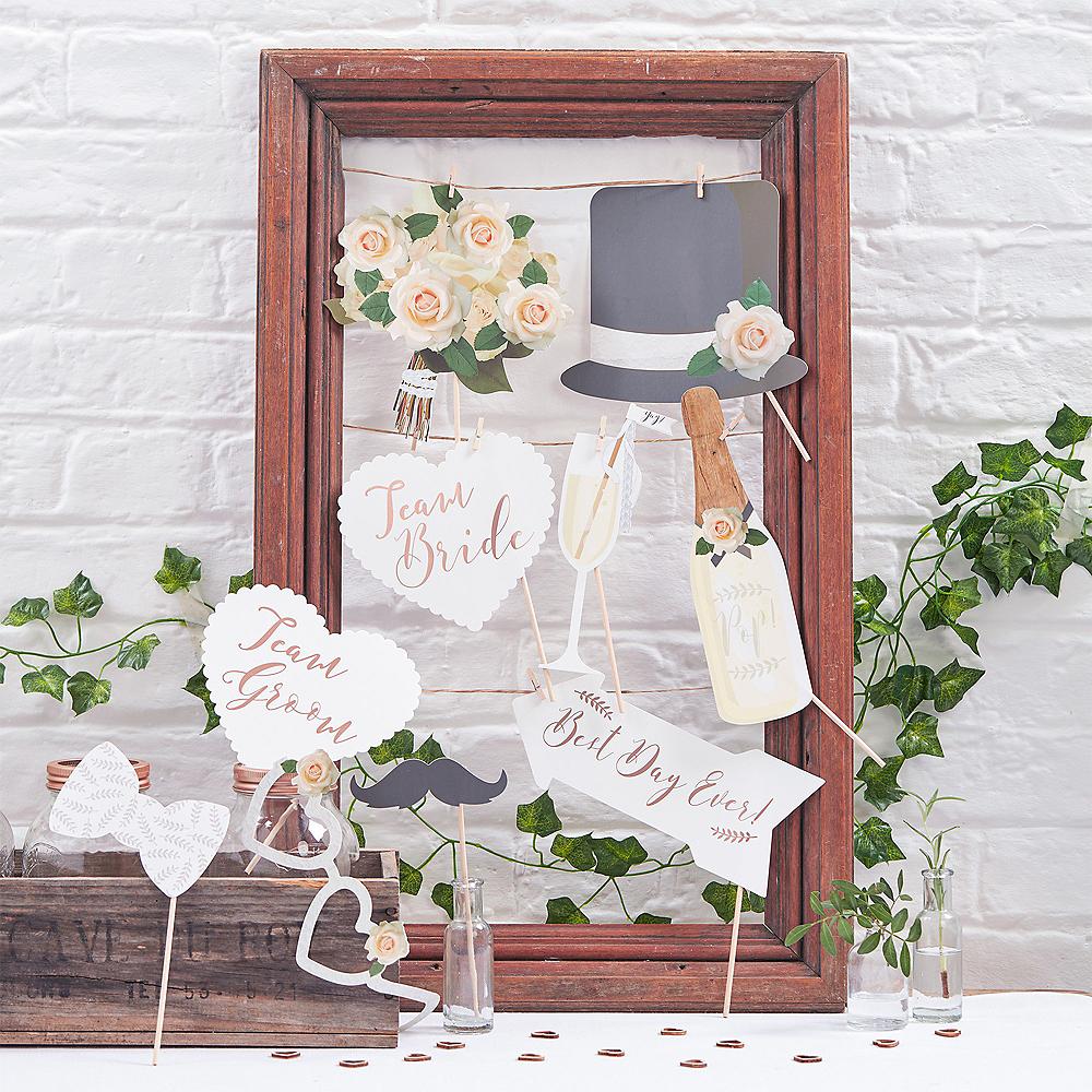 Ginger Ray Beautiful Botanics Wedding Photo Booth Props 10ct Image #1