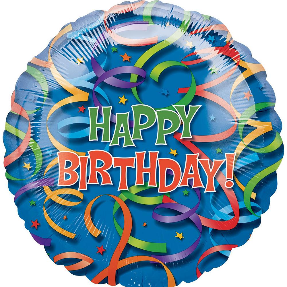 Birthday Streamers Balloon Bouquet Kit 10pc Image #2