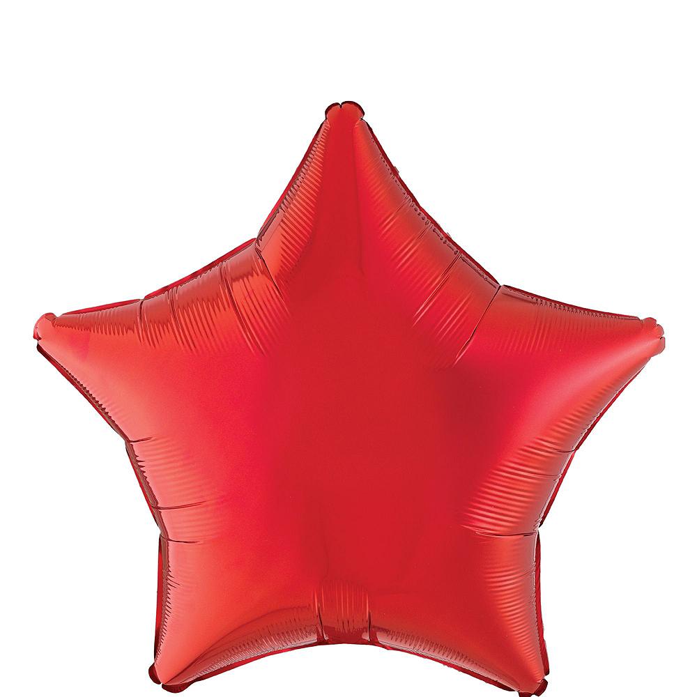 Birthday Streamers Balloon Bouquet Kit 10pc Image #6