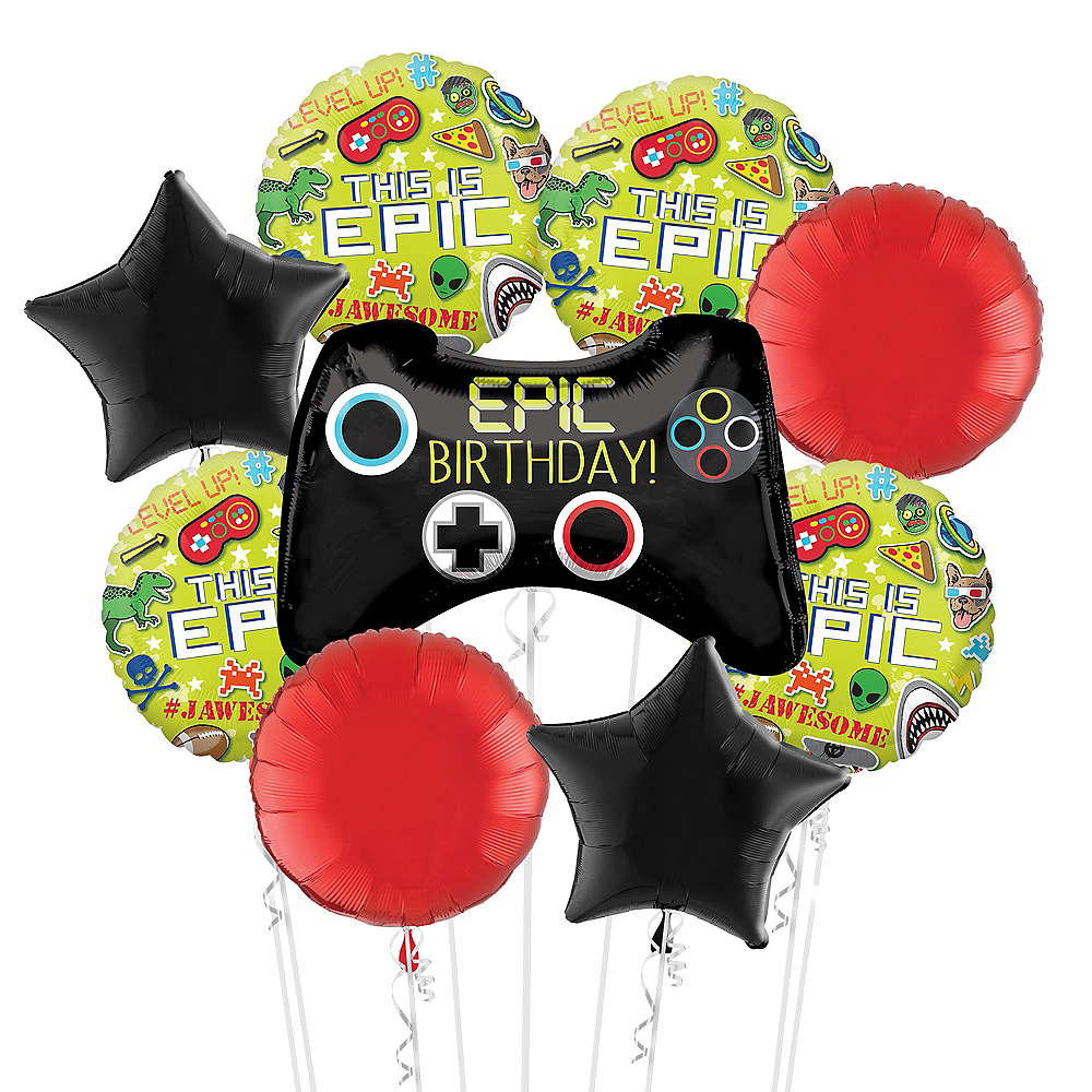 Epic Party Balloon Bouquet Kit 10pc Image #1