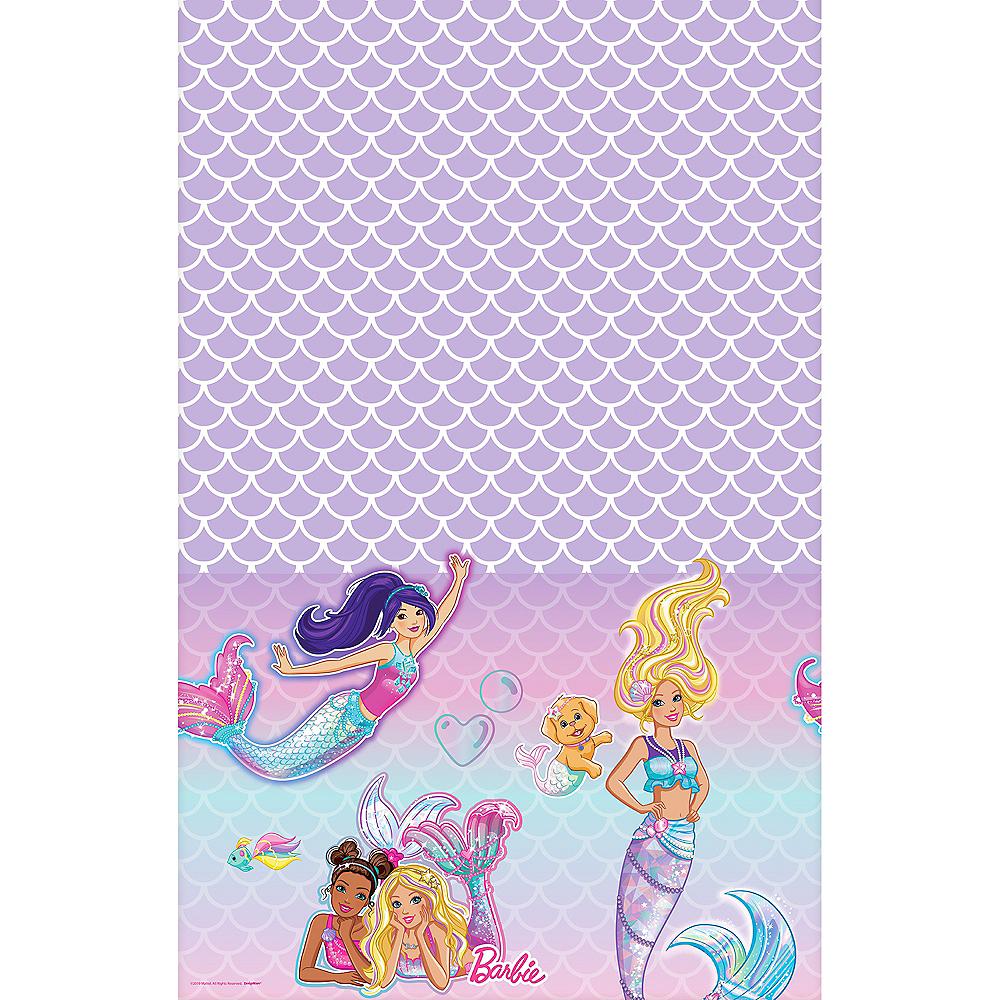 Barbie Mermaid Table Cover Image #2