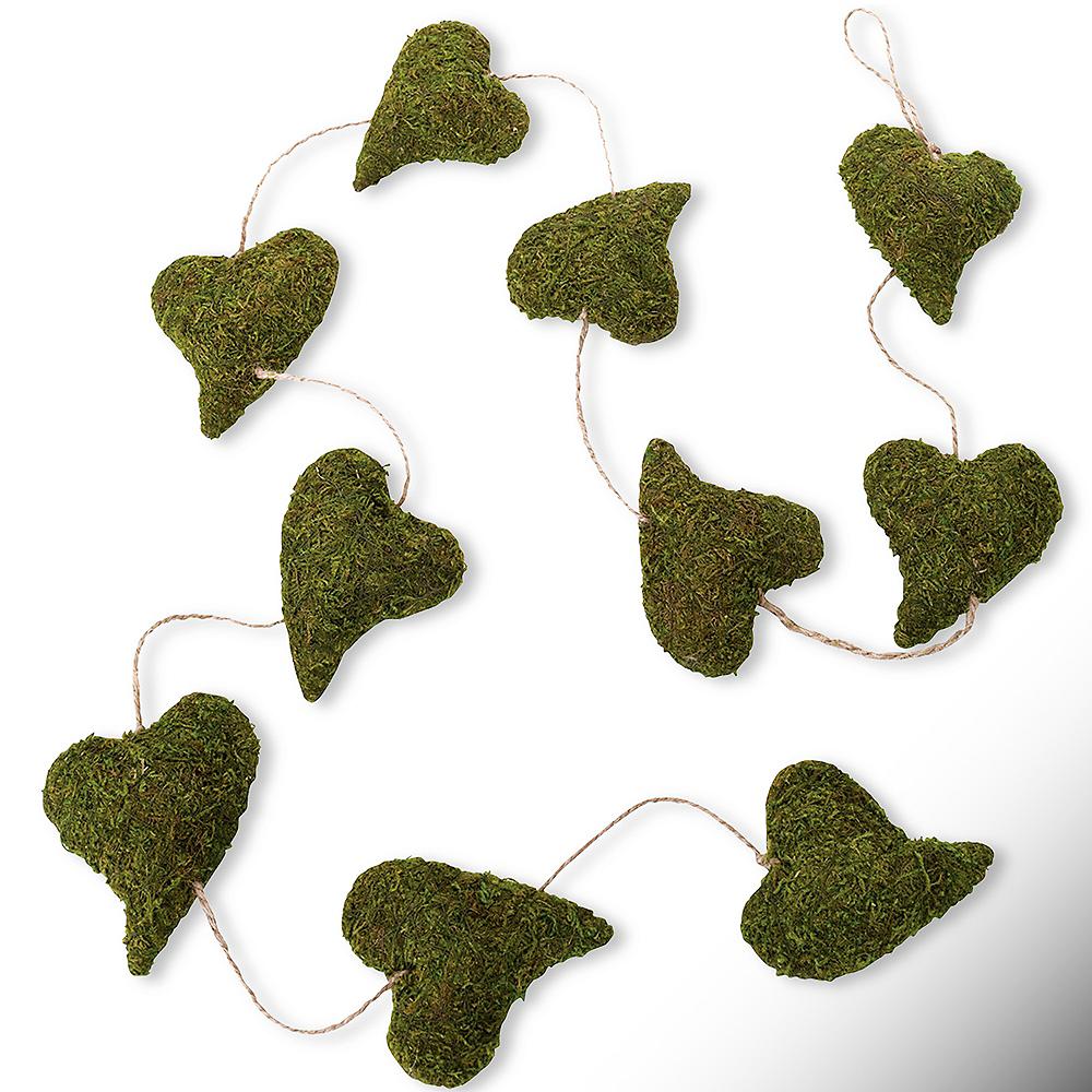 Moss Heart Garland Image #1