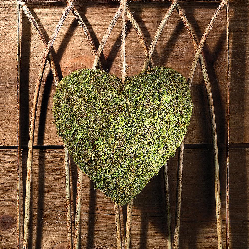Moss Heart Decoration Image #2