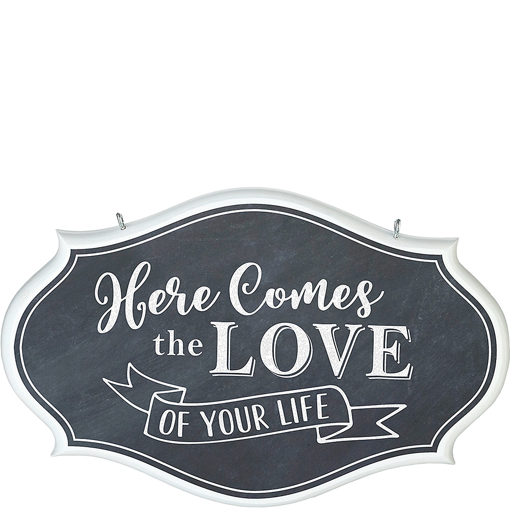 Chalkboard Love of Your Life Sign Image #1
