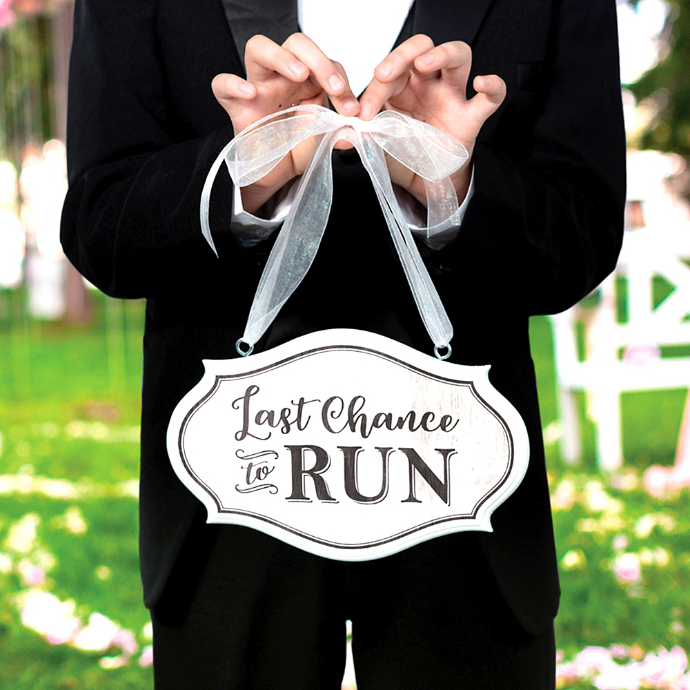 Last Chance to Run Sign Image #2
