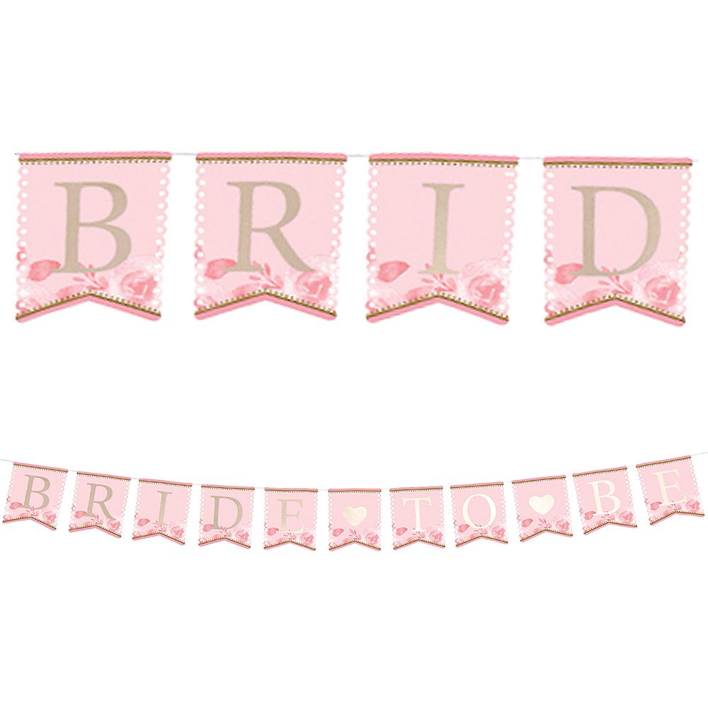 Bride to Be Pennant Banner Image #1
