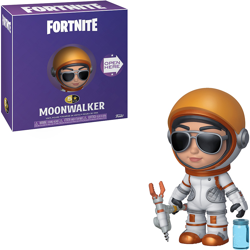 Moonwalker 5 Star Vinyl Figure - Fortnite Image #1