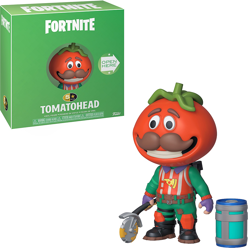 Tomatohead 5 Star Vinyl Figure - Fortnite Image #1