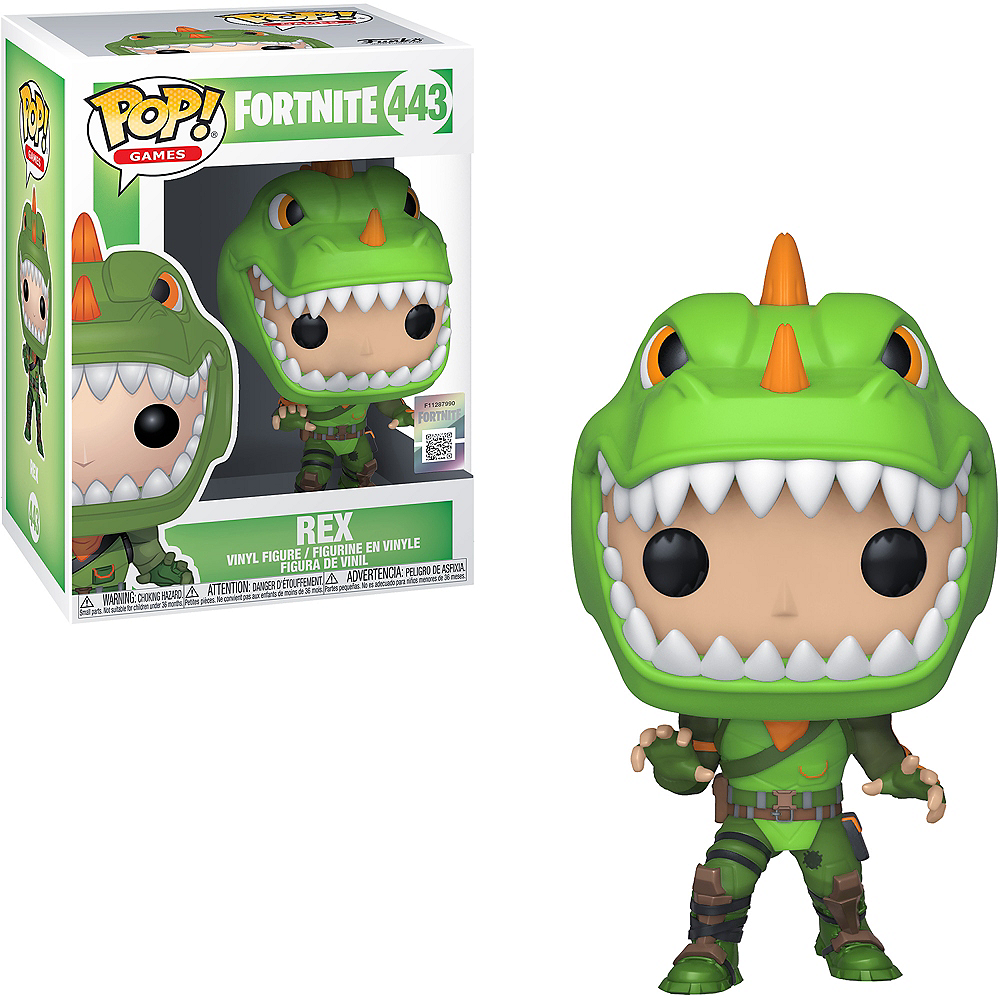 Funko Pop! Rex Figure - Fortnite Image #1