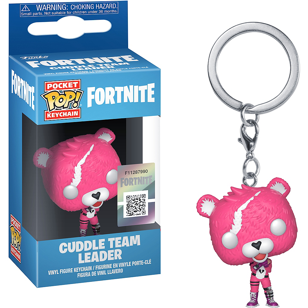 Funko Pop! Pocket Keychain Cuddle Team Leader - Fortnite Image #1