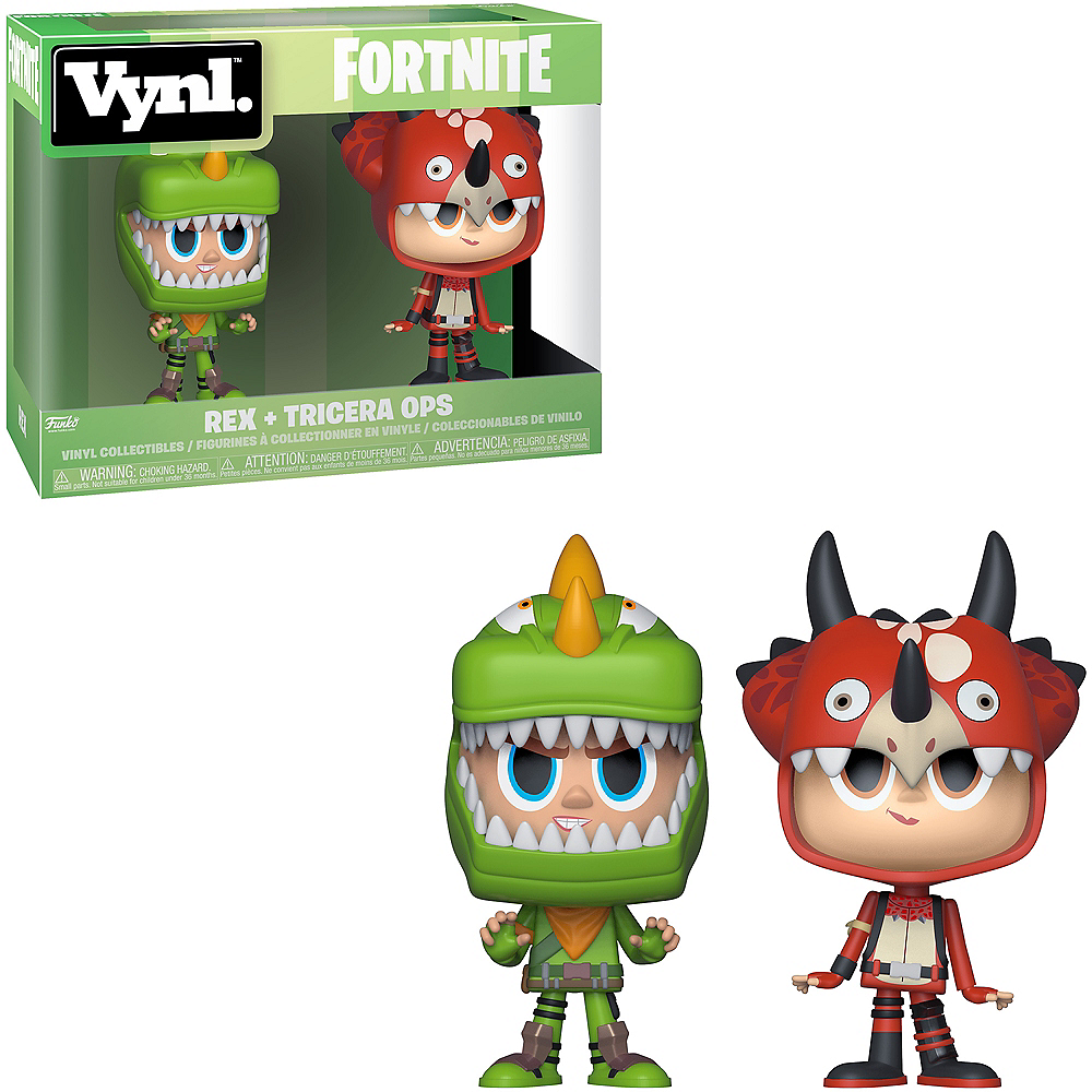 Nav Item for Funko Vynl. Rex & Tricera Ops Figures - Fortnite Image #1