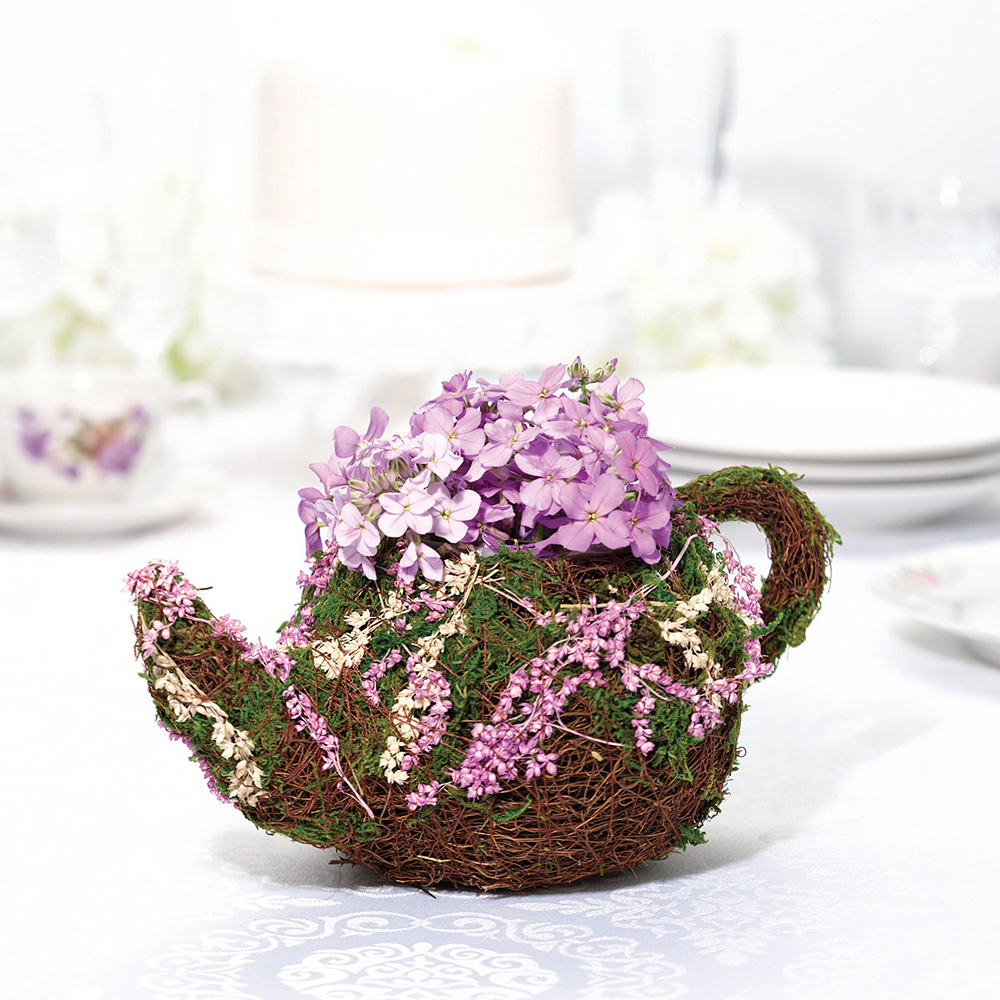 Nav Item for Rattan & Moss Teapot Basket Image #1