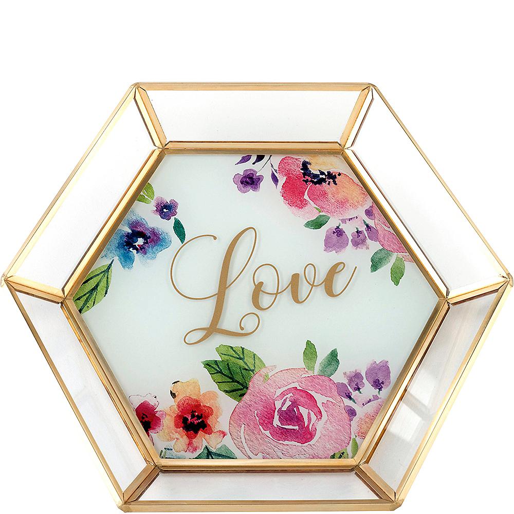 Floral Love Trinket Dish Image #1
