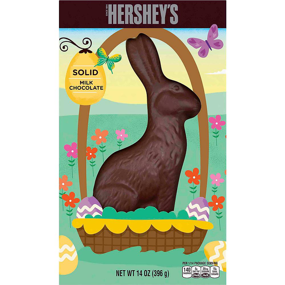 Hershey's Solid Milk Chocolate Bunny Image #1