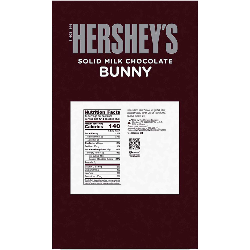 Hershey's Solid Milk Chocolate Bunny Image #2
